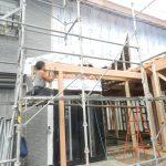宮守村で増築工事